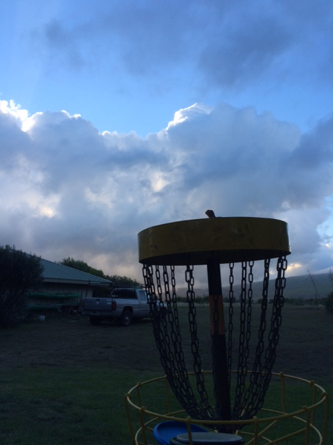 disc-golf-basket